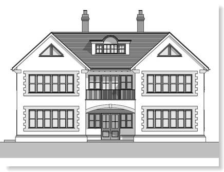 5 bed house plans uk
